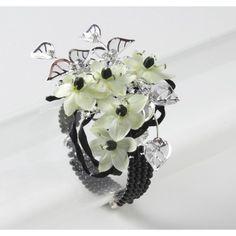 Lauren Corsage Bracelet Black
