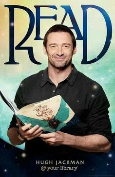 Hugh Jackman wants you to READ!