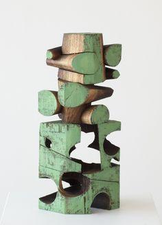 Untitled (2013) by American artist Mel Kendrick  walnut