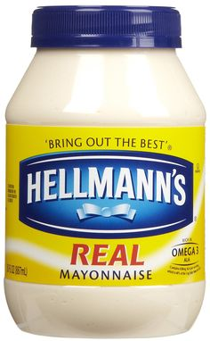 Hellmann's Real Mayonnaise Plastic Jar 30 oz (Pack of ** Find out more details @ : Dinner recipes Natural Remedies For Sunburn, Mayonnaise, Jell O, Jelly Belly, Dr Pepper, Tamales, Betty Crocker, Hellmans Mayo, Printables
