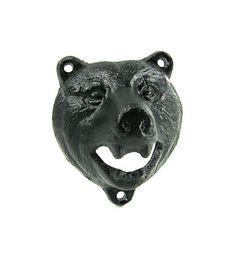 Bear Bottle Opener iron resin