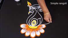 Welcome to My channel Simple rangoli. Easy Rangoli Designs Videos, Rangoli Designs Simple Diwali, Rangoli Simple, Rangoli Designs Latest, Free Hand Rangoli Design, Colorful Rangoli Designs, Beautiful Rangoli Designs, New Diwali Rangoli, Easy Rangoli Patterns