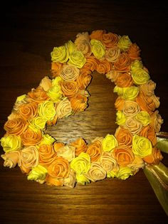 Quilled rose wand