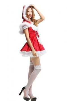 creative christmas costumes Lovely Miss Costume Expansion Skirt Velvet Diy Halloween Costumes For Women, Christmas Costumes, Santa Costumes, Buy Dress, Dress Up, Miss Girl, Rock, Cute Outfits, Fashion Women