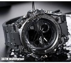 2018 New SANDA 739 Sports Men's Watches Top Brand Luxury Military Quartz Watch Men Waterproof S Shock Clock relogio masculino Men's Watches, Cool Watches, Watches For Men, Wrist Watches, Cheap Watches, Breitling, Best Military Watch, Swatch, Unusual Watches