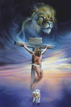Who is Christ Jesus? Learn about the one called Christ Jesus. Image Jesus, Lion And Lamb, Christian Pictures, Christian Videos, Christian Songs, Christian Quotes, Christian Artist, Jesus Painting, Crucifixion Painting