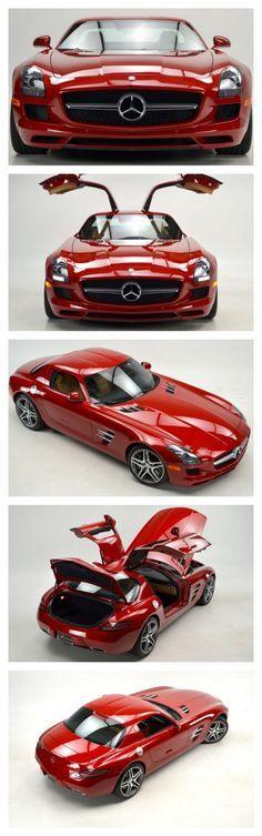 Oh la la! Le Mans red Mercedes-Benz SLS AMG #FastandFuriousFriday