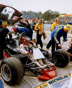 Gilles Villeneuve su Ferrari