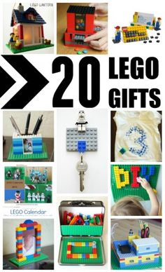 LEGO WEEK! 20 Cool LEGO Gifts to Make and Build - Great ideas for LEGO Birthdays, Father's Day, Mother's Day and more!