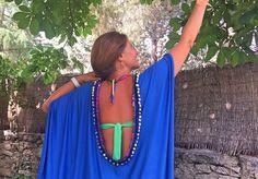 Espectacular vestido playero SIN COSER !! con 1 m x 1,5 m de tela