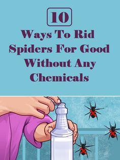 The U.S. has recently been plagued by some serious weather systems. This means spiders are likely lurking... Natural Remedies For Allergies, Natural Headache Remedies, Cold Home Remedies, Natural Remedies For Anxiety, Stories That Will Make You Cry, Ants In House, Natural Cleaners, Easy Home Decor, Funny Stories
