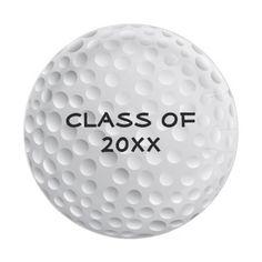 Golfer Golf Golfing Sports Graduation Party Paper Plate  sc 1 st  Pinterest & Golf Ball Paper Plate | Golf