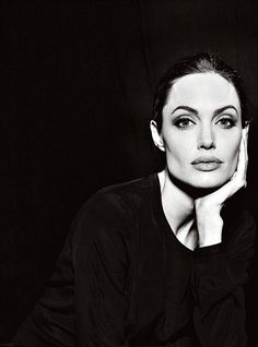 Angelina Jolie by Annie Leibovitz. I adore her, and have enjoyed her transformation through the years.