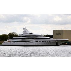 Lürssen Yachts Just launched the Project Orchid 91m