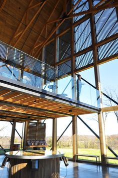 Centro de visitantes destilería Wild Turkey Bourbon,© De Leon & Primmer Architecture Workshop