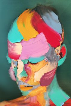 Painted self-portraits by Sophie Derrick | http://inagblog.com/2016/05/sophie-derrick/ | #art #paintings