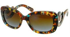 Prada PR 27OS Sunglasses for Women are available at BestBuyEyeglasses.com. These frames accept prescription lenses. #PRADA #PR #27OS