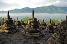 Borobudur Temple, Java Indonesia