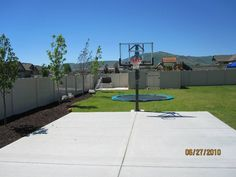 Dream Backyard Basketball Court Outdoor Living