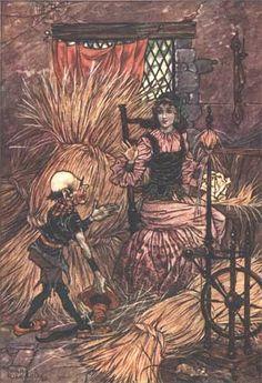 Charles Folkard, 1911, Rumpelstiltskin