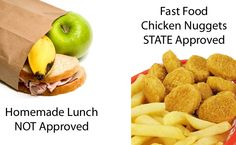 State Agents Now Replacing Homemade School Lunches with Government Approved Cafeteria Food - The Food Police are here!