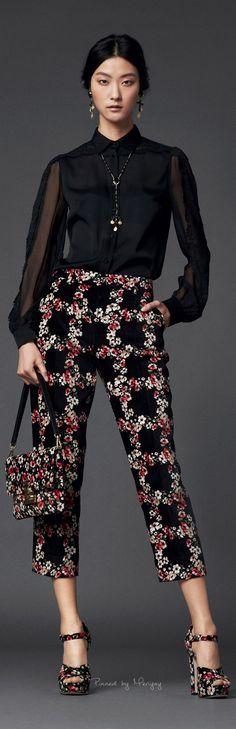 Fall-Winter Dolce Gabbana 2014.