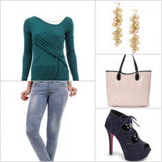 Essa blusa verde de manga longa, é uma boa opção para os dias de menos frio. http://tempodemoda.climatempo.com.br/Belo_Horizonte