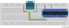 Raspberry Pi идатчик атмосферного давления BMP085