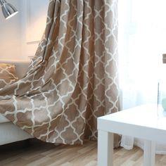 Современные оконные шторы украшения дома моды ткани для шторы гостиная плед подушка ткани обработки окна балконкупить в магазине NAPEARL official storeнаAliExpress