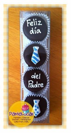 Good idea for dad Fathers Day Cupcakes, Fathers Day Cake, Cute Cookies, Cupcake Cookies, Oreo, Dad Cake, Cake Pops, Marshmallow Pops, Sugar Cake