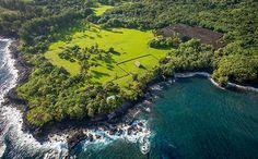 Kahanu Garden, Kauai, one the first places polynesian settlers lived