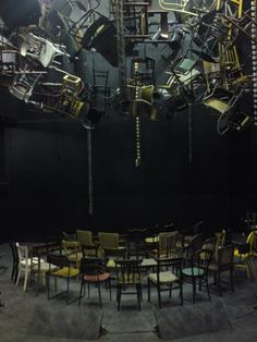 The Chairs. Theatre Royal Bath. Scenic design by Garance Marneur. 2010