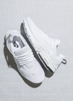 Nike Air Presto - Tags: sneakers, running shoes, low tops, mesh, all white