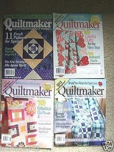 Ivanhoe162 on Ecrater-The Great Ebay Alternative: QUILTMAKER-THE QUILTS YOU WANT TO MAKE-WE HOW YOU ...