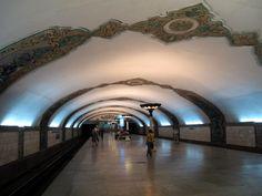 Özbekistan Taşkent Metrosu