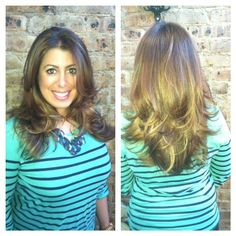 Color, highlight, haircut, blowout and style by Tiffany!!! #color #highlights #hair #haircut #blowout #style #salon #beauty www.facebook.com/sparkshairdesign www.sparkshairdesign.com