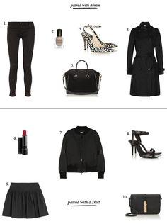 Fall Fashion Trend: All-Black Everything | Divine Caroline #divinecaroline #fall #style #fashion #trend #shop