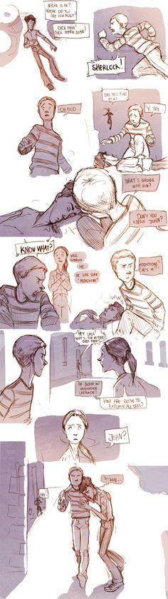 Teen Sherlock - Addictions Part 1 by DrSlug (Angeliki Salamaliki)