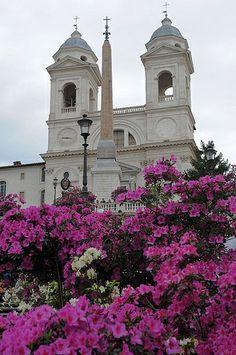 Rome, place d'Espagne, Trinité des Monts,  | Flickr – Condivisione di foto!//pp