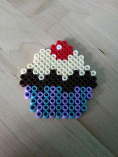 Cupcake Hama beads by Thea P.