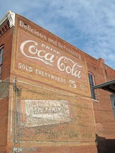 Coke Sign on Building by ConanTheLibrarian, via Flickr
