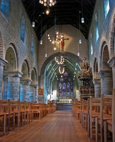 Cathedral in Stavanger. Oslo, Places To Travel, Places To See, Places Around The World, Around The Worlds, Stavanger Norway, Scandinavian Countries, Chapelle, Place Of Worship