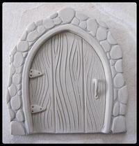 Clay Fairy Door Tutorial pattern on Craftsy.com