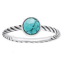Thomas Sabo Turquoise Ethnic Ring Size O - Product number 6391508