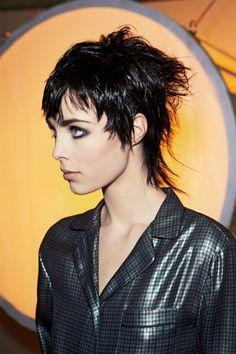 coupe de cheveux femme court coupe de cheveux tendance avec effet dégradé