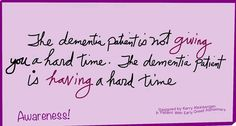 The Layman's Guide To Alzheimer's Disease – Elderly Care Tips Lewy Body Dementia, Alzheimer's And Dementia, Alzheimer Care, Dementia Care, Dementia Quotes, Alzheimers Quotes, Alzheimers Activities, The Long Goodbye, Living With Dementia