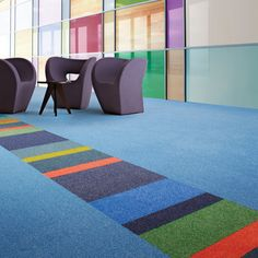 Modular flooring from Interface creates outstanding interior spaces while helping to protect the planet.