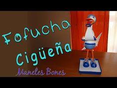 Curso avanzado de fofuchas -#1: La cigüeña y el bebé - YouTube