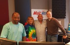Chef Jim with the WMJI 105.7 morning crew.