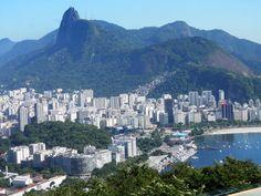Bairro de Botafogo , visão do Morro da Urca/ Rio de Janeiro/Brasil